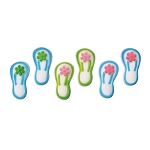 Flip Flops Assortment Dec-Ons® (6 pieces)