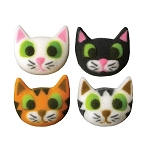 Kitty Assortment Dec-Ons® (8 pieces)