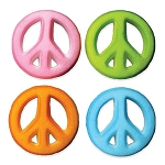 Peace Sign Assortment Dec-Ons® (4 pieces)