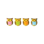 Owl Assortment Dec-Ons® (12 pieces)