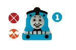 Thomas and Friends - Railroad Signs Edible DecoSet® (4 piece)