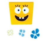 SpongeBob- Sea Flowers Edible DecoSet®(4 piece)