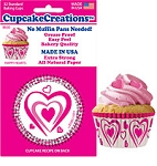 Happy Heart Standard Baking Cups (32 cups) **LIMITED STOCK**