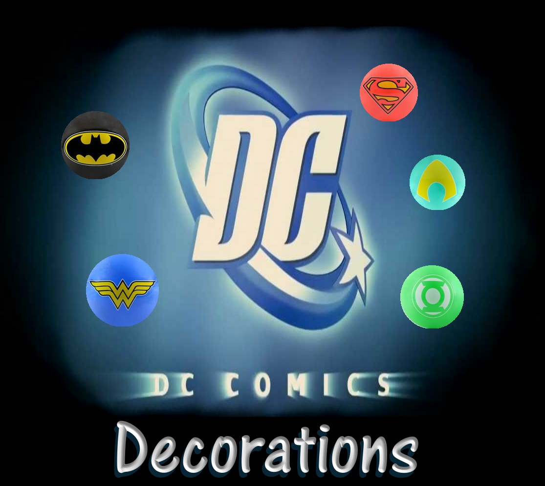 DC Comics Decorations