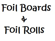 Foil Drums and Rolls