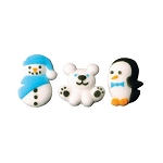 Winter Buddies Assortment Sugars 9 pieces
