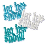 Let It Snow Adornment