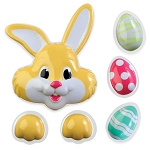 Egg,Bunny,Paws Layon Set (6 Piece)