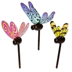 Bumble Bee & Butterflies Pick
