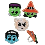 Halloween Character Rings  (Pack of 12)