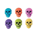 Skull Assortment Dec-Ons® (12 pieces)