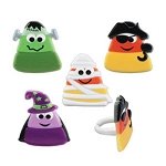 Candy Corn Character Rings (Pack of 12)