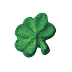 Small Shamrock Dec-Ons®(12 Pack)