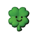 1-3/8 Happy Face Clover Dec-Ons®(12 Pack)