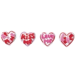 Talking Hearts Dec-Ons® (4 pieces)