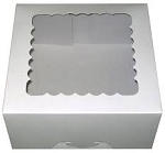 18x18x8 White Heavy Duty Window Box