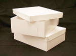 14x19x6 (Half Sheet) White Cake Box