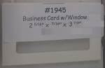 Buisness Card Window Candy Box - 3pk