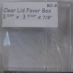 Clear Favor Box 2pack