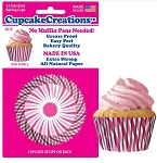 Pink Swirl Standard Baking Cups (32 cups) **LIMITED STOCK**