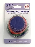 Wonderful Waves Standard Baking Cases (60 cups)