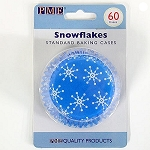 Snowflakes Standard Baking Cases (60 cups)