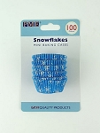 Snowflakes Mini Baking Cases (100 cups)