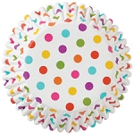 Wilton Rainbow Dots ColorCup-36 Cups