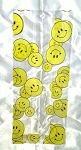 Medium Smiley Face Cellophane Bag - 1 bag