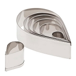 Tear Drop 7 piece Cutter Set