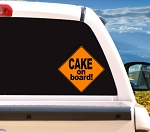 Cake On Board!- Decal