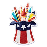 Patriotic Hat Pop Top