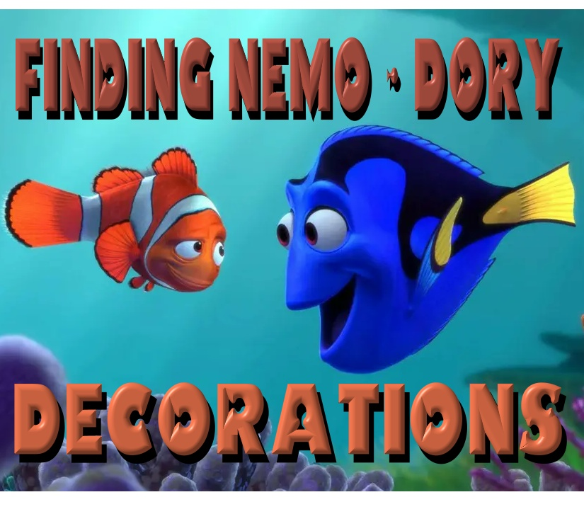 Finding Nemo/Dory Decorations