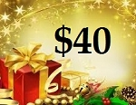 $40 Gift Card (ONLINE USE ONLY. NO EXCEPTIONS)