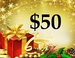 $50 Gift Card (ONLINE USE ONLY. NO EXCEPTIONS)