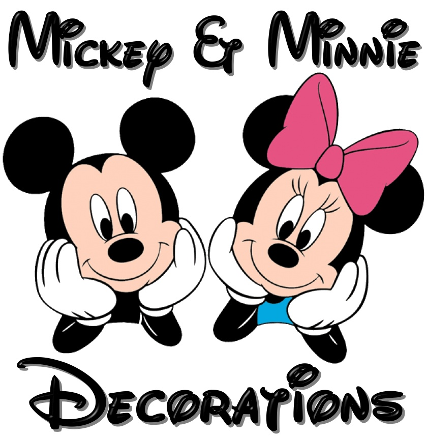 Mickey & Minnie Mouse Decorations