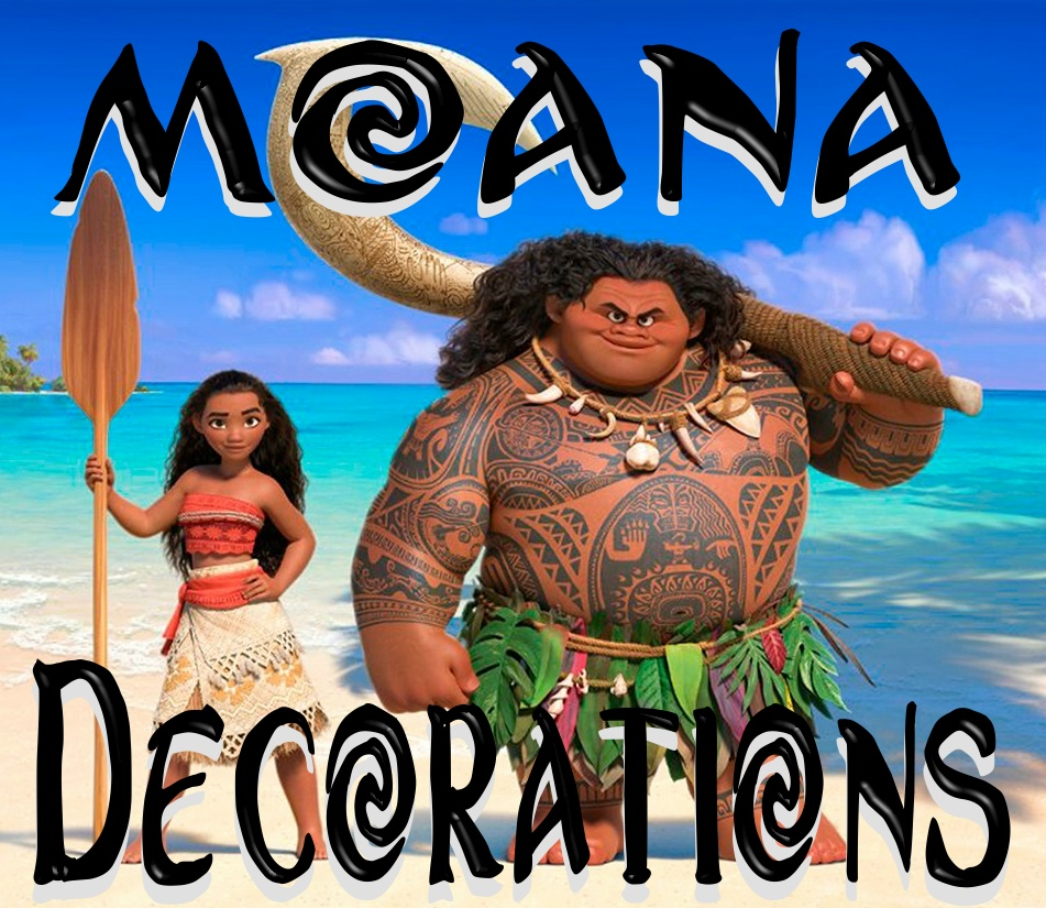 Moana Decorations