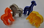 Animal Plastic Plunger Cutters