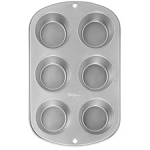 Recipe Right 6 Cup Standard Cupcake Pan