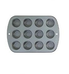 Recipe Right 12 Cup Standard Cupcake Pan
