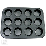 12 Count Standard Cupcake/ Muffin Pan Nonstick