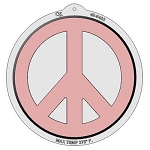 Peace Sign Plastic Pan