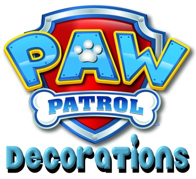 Paw Patrol Decorations
