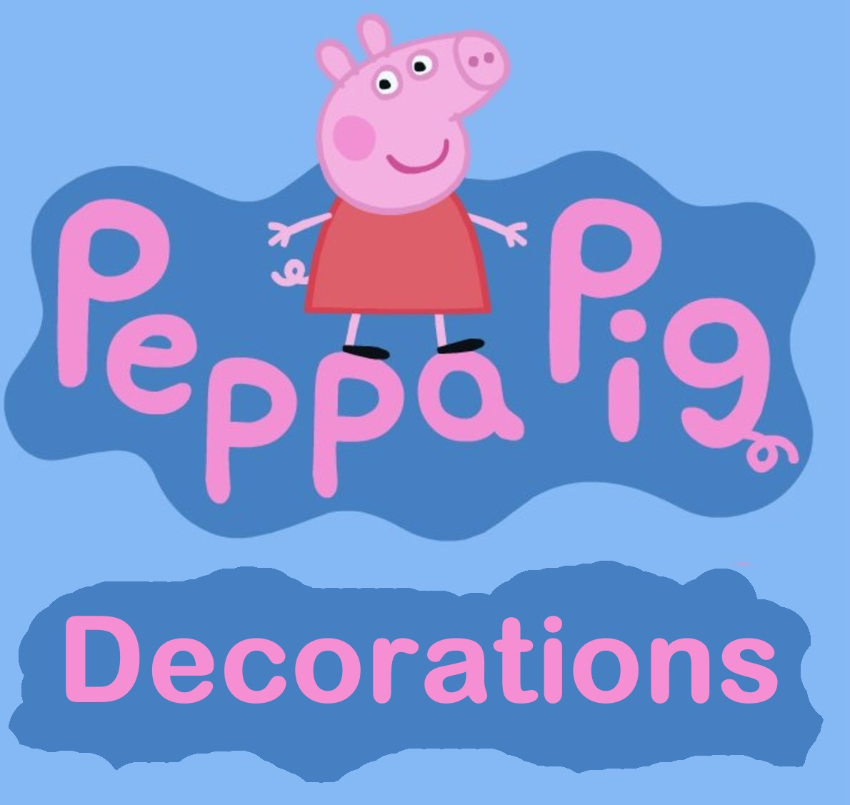 Peppa Pig Decorations
