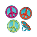 Peace Sign Rings