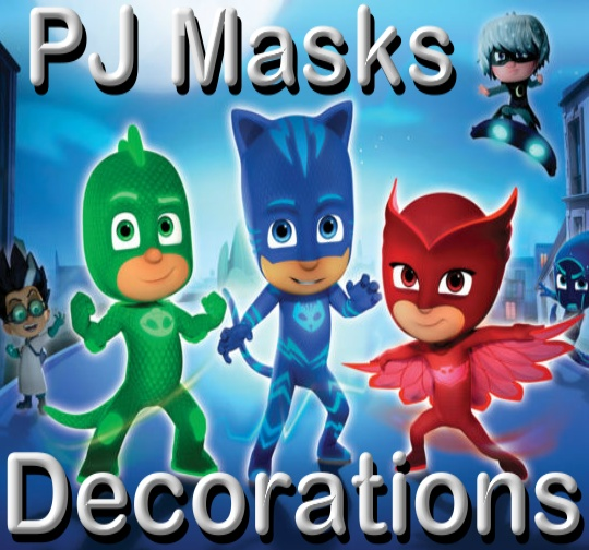 PJ Masks Decorations