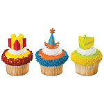 Birthday Party Assortment DecoPics®- 12