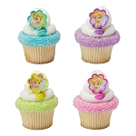 Tinker Bell I Believe in Fairies Cupcake Rings -12