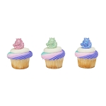 Unicorn Cupcake Rings- 12