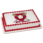 Baseball All-Stars PhotoCake® Edible Image®